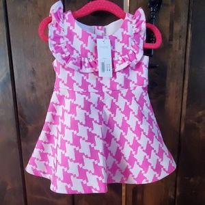 NWT Janie and Jack Pink dress 6-12 months